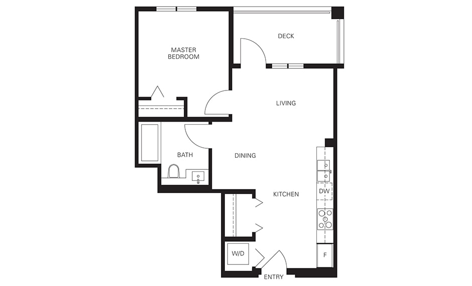 Langley condo for sale Floorplans A